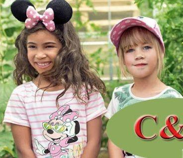 Детская одежда бренд C&A лето СТОК ОПТ