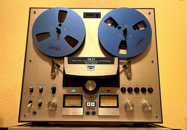 Magnetofon szpulowy AKAI GX-265D Japan Vintage stan gabinet