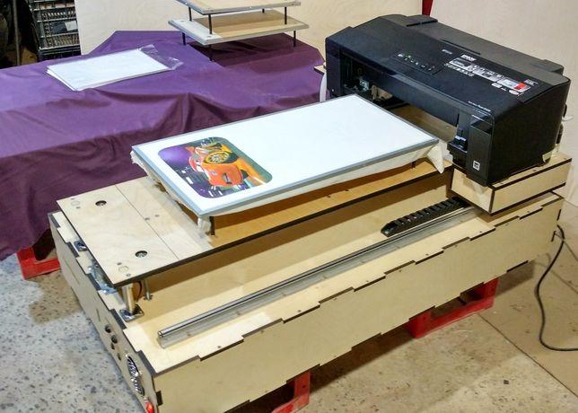 УФ принтер, Текстильный планшетный принтер