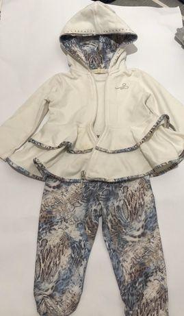 Bluza spodnie komplet ceremony rozmiar 80