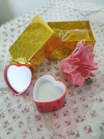 Подарочные коробочки шкатулки под ювелирные изделия