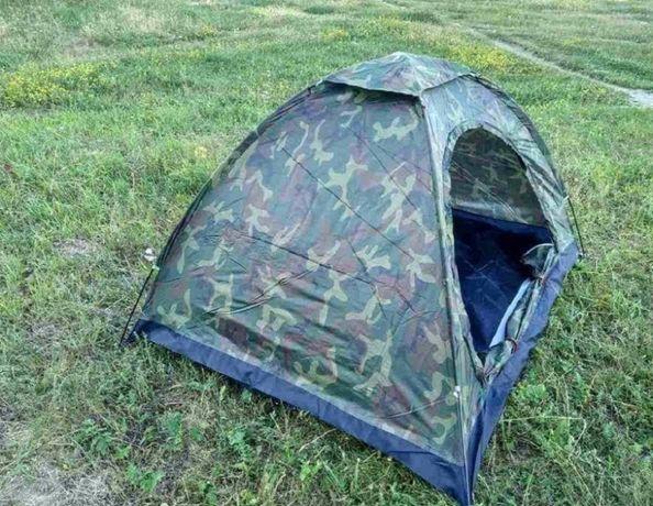 Намет чотиримісна 2 х 2,5 м для кемпінгу (Хакі) .Палатка #