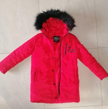 Sprzedam kurtkę Reserved zimową 140 cm