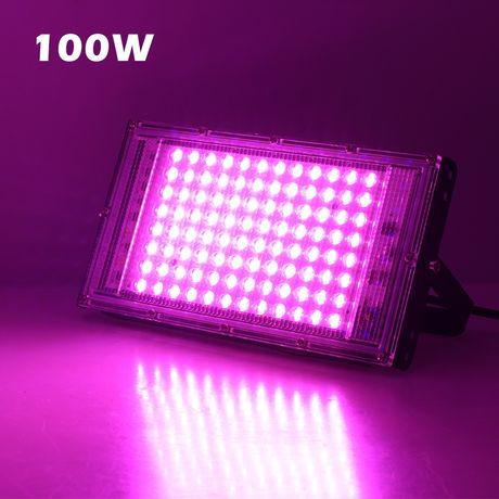 100W Фитолампа LED лампа для растений полный спектр 100Вт 100