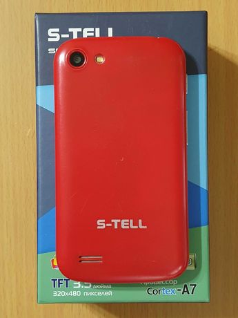 Смартфон S-TELL C205 RED