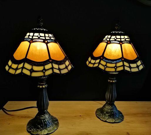 Lampa witrażowa Tiffany, lata 50/60 Francja