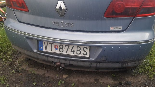 Задній бампер на Renault Vel Satis Рено Велсатіс
