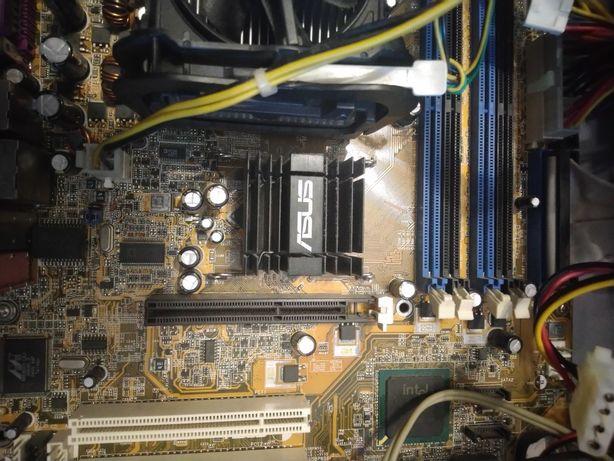 Компьютер на восстановление на asus p4p800 -e deluxe ,