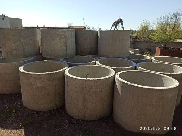 Кільця бетонні для колодязя КС 10.9, КС 15.9, ПП 10.1