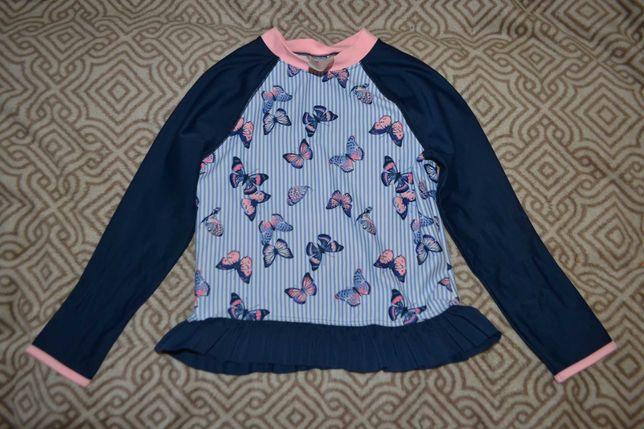 новая солнцезащитная футболка реглан H&M 4-6 лет рост 110-116 Англия
