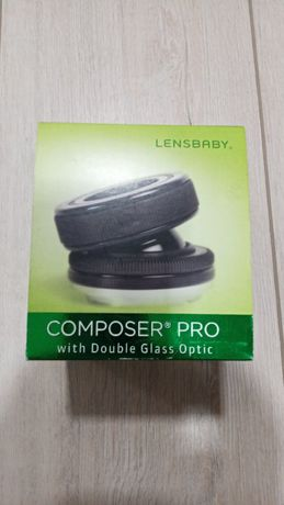 Новый объектив Lensbaby Composer Pro with Double Glass на Sony Alpha