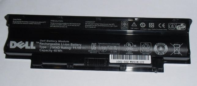 Оригинальная батарея Dell J1KND 11.1 V 48Wh Аккумулятор АКБ оригинал