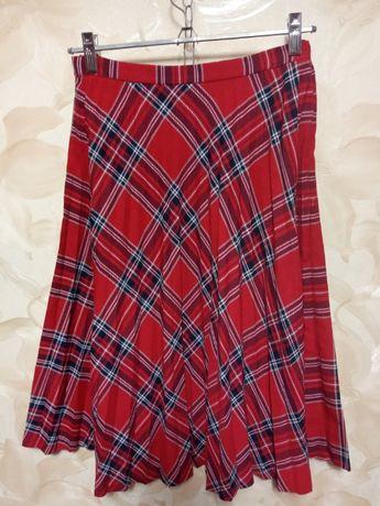 юбка в складочку