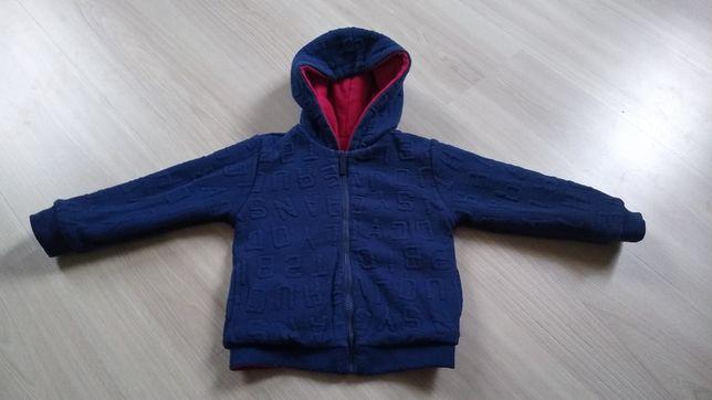 Bluza dwustronna MAYORAL chłopięca granatowa /czerwona r 86/92 24m
