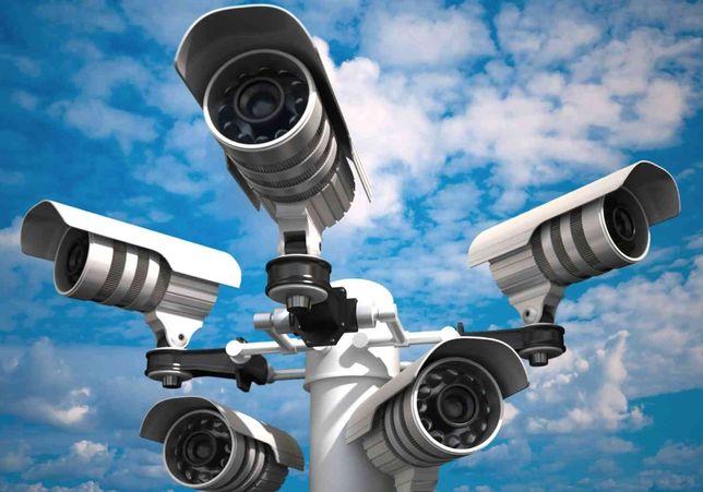 Установка видеонаблюдения, сигнализаций, прочих охранных систем