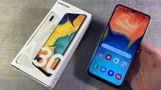 Смартфон Samsung Galaxy A30