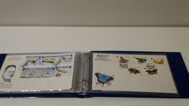 Coleção de selos Jersey