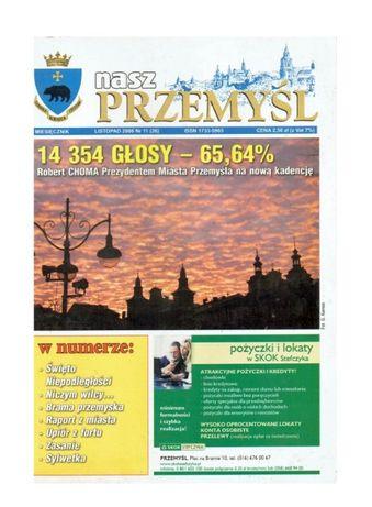 Nasz Przemyśl miesięcznik listopad 2006 rok