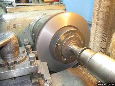 Проточка дисков токарные работы