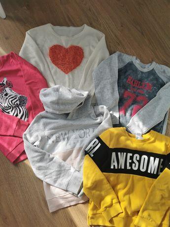 Bluzy i sweterek
