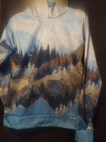 Bluza z kapturem Góry Nowa