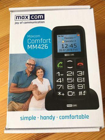 Telefon komórkowy dla starszych ludzi - MaxCom Comfort MM426