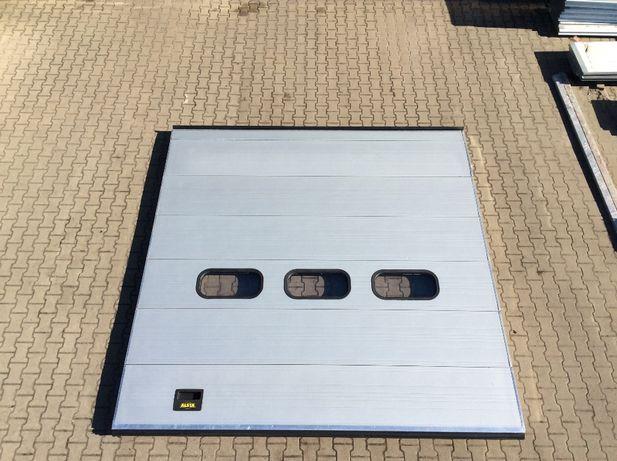 brama panelowa segmentowa garażowa przemysłowa 345 x 350