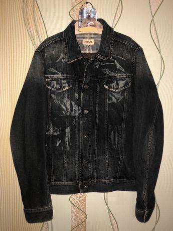 Джинсовка джинсовая куртка diesel не levis