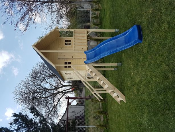 Domki ogrodowe domek dla dzieci otwierane okna plexi