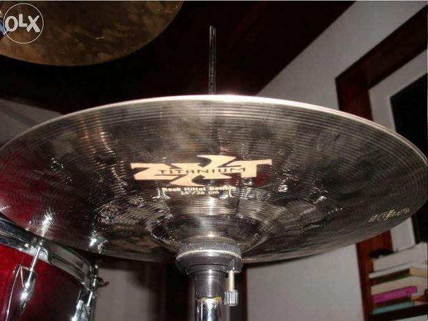 """Zildjian hihat Rock ZXT 14"""" tittanium"""