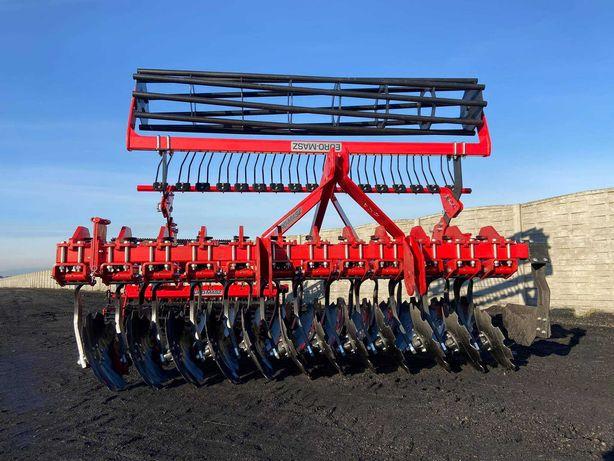 Brona Talerzowa kompaktowa, zawieszana, hydrauliczna, sprężynowa