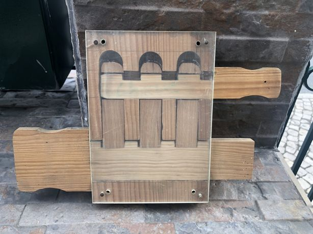 Vendo fechadura em madeira tradicional Rio Maior
