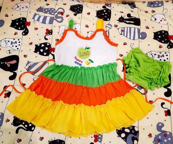 Платье сарафан на 2 годика