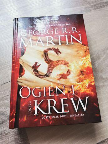 """Książka """"Ogień i krew"""" cz.1 George R.R. Martin"""
