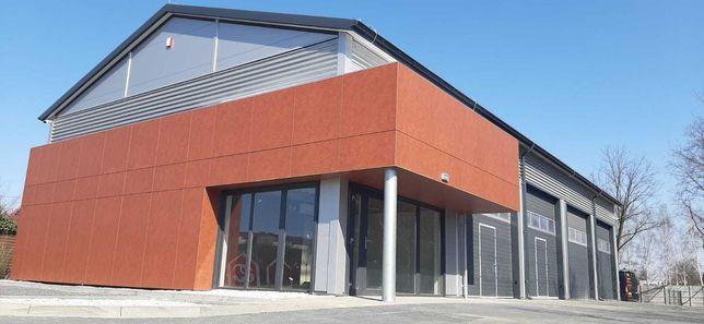 Hala stalowa konstrukcja warsztat magazyn biuro pawilon Rebud 300m2