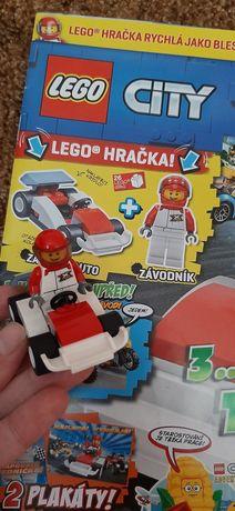 Lego City Гоночний автомобіль +журнал