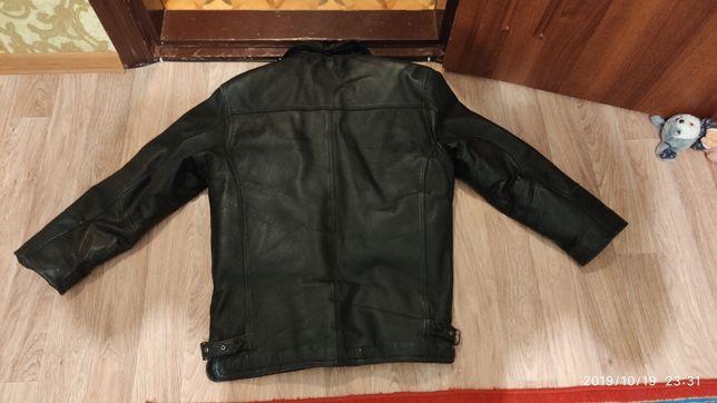 Куртка кожа демисезон, размер xxl
