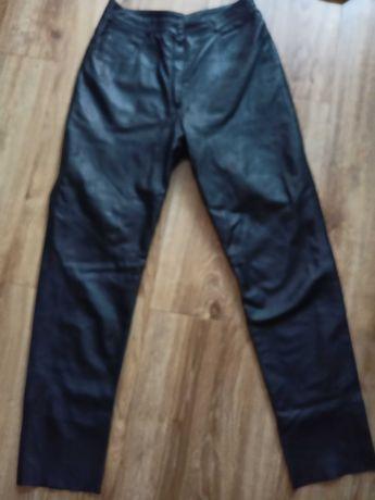 C&A CANDA 42 XL spodnie skóra motocyklowe