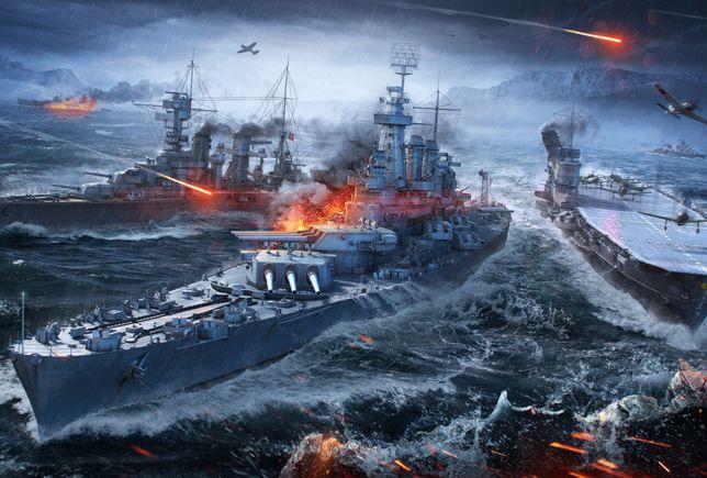 Puzzle - Bitwa morska 1000 elementów unikat !!!