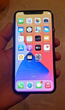 Продам iphone X 256 space grey