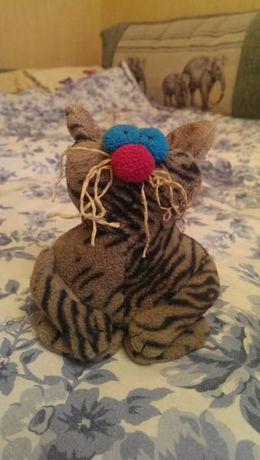 Мягкая игрушка коты своими руками