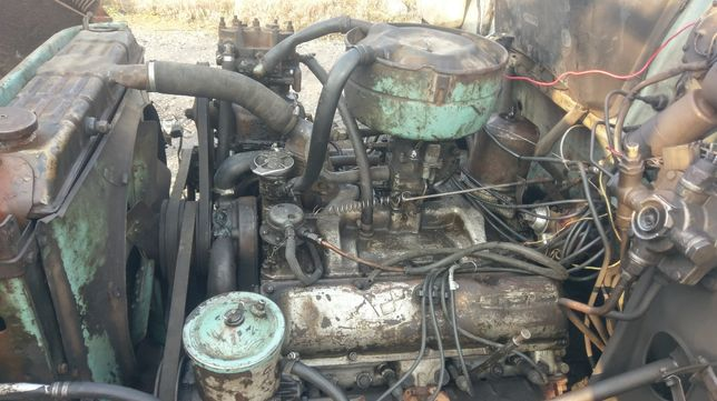 Двигатель ЗИЛ 130 с газовой установкой