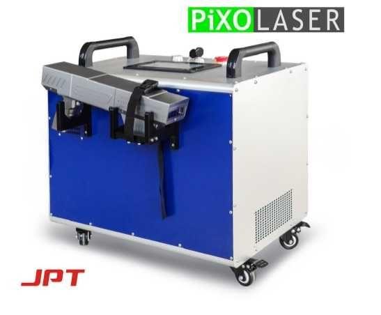 Laser czyszczący 100W seria profesjonalna MOPA fiber