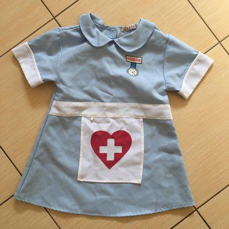 strój na karnawał - pielęgniarka