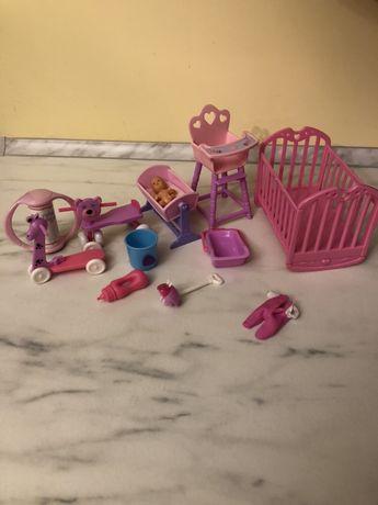 Кріселко, ліжечко, меблі дитячі, іграшки