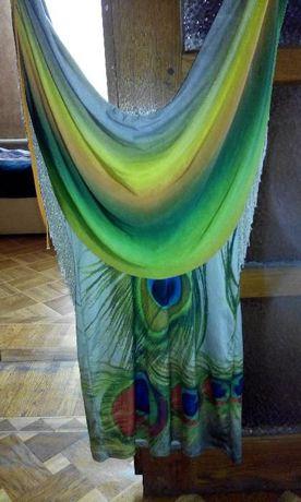 Продам платье сарафан в идеальном состоянии Как радуга!!!