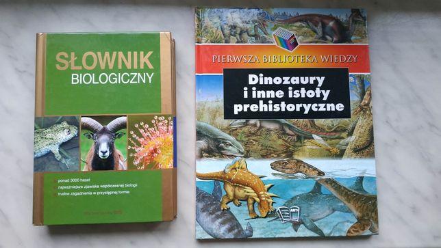 Zestaw, pakiet 2 książek biologia/przyroda