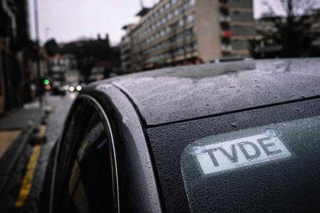Empresa tvde, uber bolt freenow