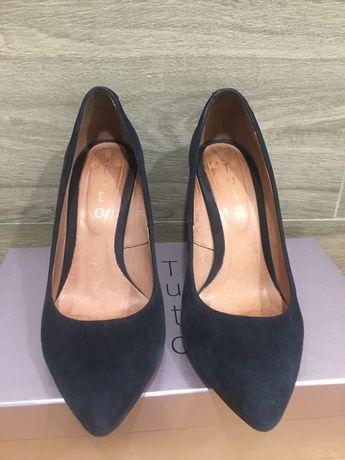 Туфли Tuto, размер 36, натуральная замша и кожа