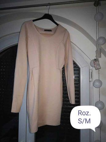 Bezowa sukienka M